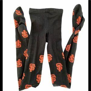 San Francisco Giants Black Tights